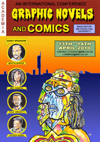 Graphic Novels and Comics Conference 2010 Poster